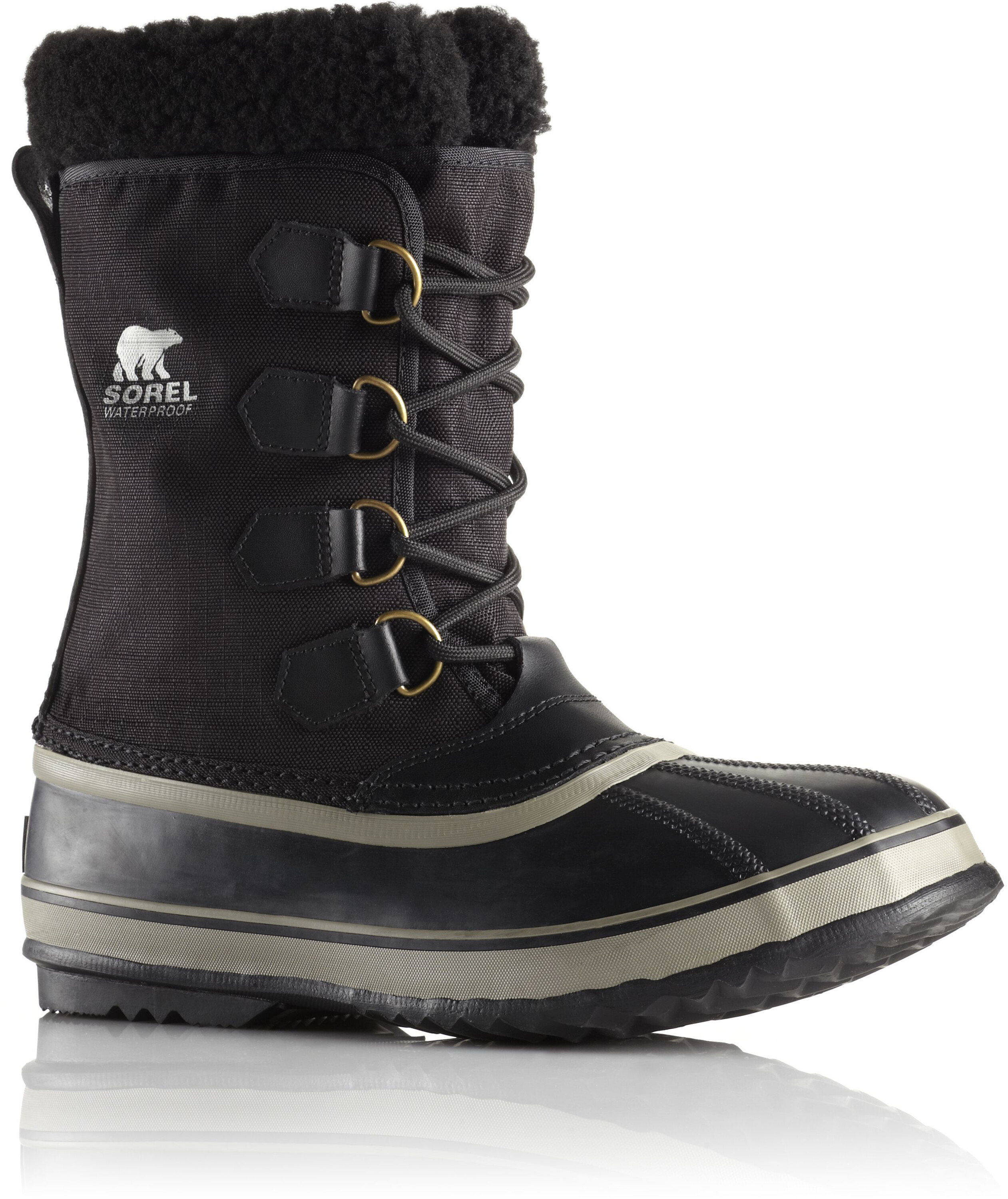 fb8dc6532544d3 Sorel 1964 Pack Nylon Stivali Uomo, black/tusk su Addnature